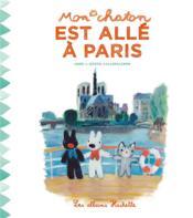 Mon chaton a visité Paris - Couverture - Format classique