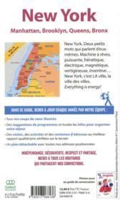 Guide du Routard ; New York ; Manatthan, Brooklyn, Queens, Bronx (édition 2020) - 4ème de couverture - Format classique