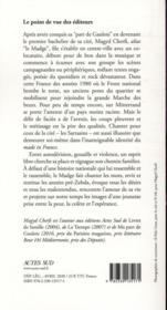 La part du sarrasin - 4ème de couverture - Format classique