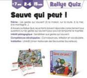 Rallye quizz hello maestro sauve qui peut ! - Couverture - Format classique