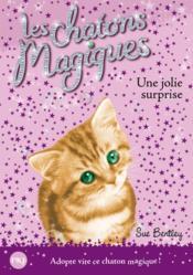 Les chatons magiques T.1 ; une jolie surprise - Couverture - Format classique