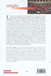Economie europeenne - 2e ed. - 4ème de couverture - Format classique