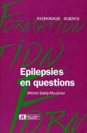 Épilepsie en question - Couverture - Format classique
