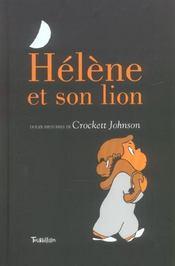 Hélène et son lion - Intérieur - Format classique
