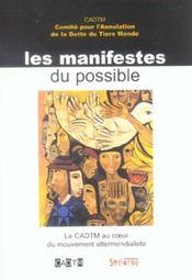 Manifestes Du Possible - Intérieur - Format classique