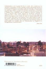 L'Urbanisation Au Maghreb ; Le Langage Des Cartes - 4ème de couverture - Format classique