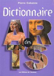 Dictionnaire des arts - Intérieur - Format classique