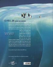 Global 200 ; nature sans frontieres - 4ème de couverture - Format classique