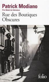 Rue des boutiques obscures - Couverture - Format classique