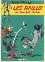 Lucky Luke T.19 ; les rivaux de Painful Gulch - Couverture - Format classique