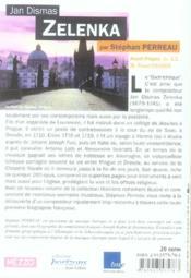 Jan Dismas Zelenka - 4ème de couverture - Format classique