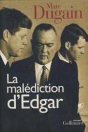 La malediction d'edgar roman - Couverture - Format classique