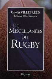 Les miscellanées du rugby - Couverture - Format classique