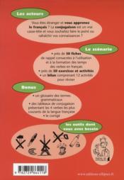 Sos conjugaison apprendre et reviser la conjugaison francaise en s'amusant niveau 1 fle - 4ème de couverture - Format classique
