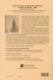 Revue D'Assyriologie Et D'Archeologie Orientale N.104 - 4ème de couverture - Format classique