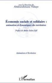 Économie sociale et solidaire : animation et dynamiques des territoires - Couverture - Format classique