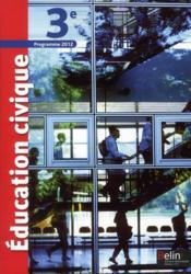 Éducation civique ; 3ème - Couverture - Format classique