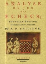 Analyse du jeu des échecs - Couverture - Format classique