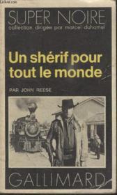 Collection Super Noire N° 56. Un Sherif Pour Tout Le Monde. - Couverture - Format classique