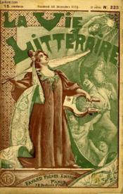Le Maire. La Vie Litteraire. - Couverture - Format classique
