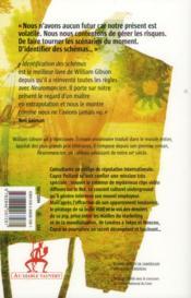 Identification des schémas - 4ème de couverture - Format classique