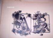Festons und decorative Gruppen, nebst einem Zieralphabet aus Pflanzen und Thieren [...] - Couverture - Format classique