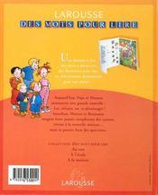 A La Maison - 4ème de couverture - Format classique