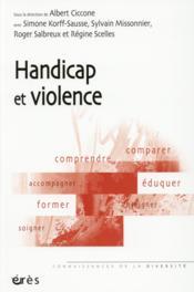 Handicap et violence - Couverture - Format classique