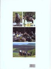 Le cheval en auvergne - 4ème de couverture - Format classique