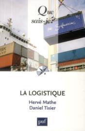 La logistique (8e édition) - Couverture - Format classique