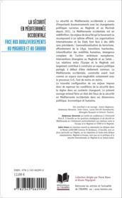 La sécurité en méditerranée occidentale ; face aux bouleversements au Maghreb et au Sahara - Couverture - Format classique