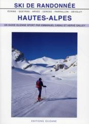 Ski de randonnée, Hautes-Alpes - Couverture - Format classique
