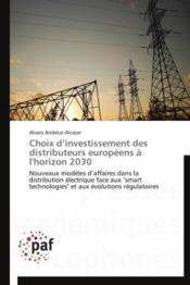 Choix d'investissement des distributeurs européens à l'horizon 2030 - Couverture - Format classique