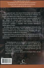 Chaos t.1 ; ceux qui n'oublient pas - 4ème de couverture - Format classique