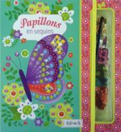 Papillons en sequins - Couverture - Format classique