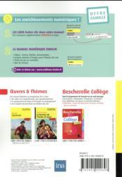 COLIBRIS ; français ; 4e ; livre de l'élève - 4ème de couverture - Format classique