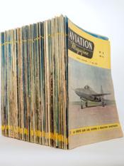 Aviation Magazine ( lot des 125 premiers numéros, du n° 1 du 1er mai 1950 au n° 125 du 24 mars 1955 ) - Couverture - Format classique