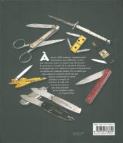 1001 couteaux - 4ème de couverture - Format classique