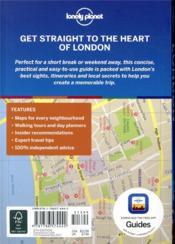 London (6e édition) - 4ème de couverture - Format classique