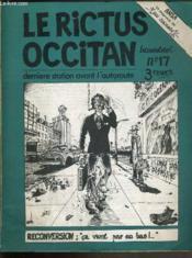 Le Rictus Occitan - N°17 - Derniers Station Avant L'Autoroute - Couverture - Format classique