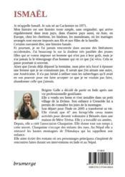 Ismaël - 4ème de couverture - Format classique