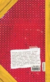 La tomate ; recettes et variations gourmandes - 4ème de couverture - Format classique
