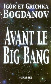 Avant le big bang - Intérieur - Format classique