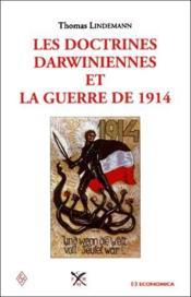 Les doctrines darwiniennes et la guerre de 1914 - Couverture - Format classique