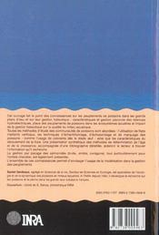 Gestion piscicole des grands plans d'eau - 4ème de couverture - Format classique
