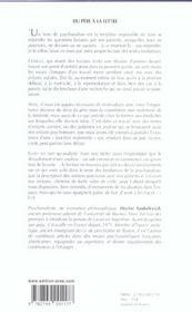 Du pere a la lettre dans la clinique, la litterature, la metapsychologie - 4ème de couverture - Format classique