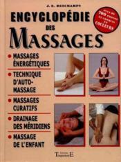 Encyclopedie Des Massages - Couverture - Format classique