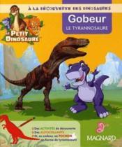 Gobeur, le tyranosaure - Couverture - Format classique