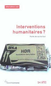 Interventions humanitaires ? - Intérieur - Format classique