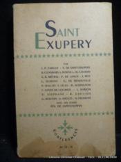 Saint-Exupéry. Revue Confluences n°12-13-14 - Couverture - Format classique